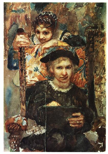 Hamlet and Ophelia, 1883